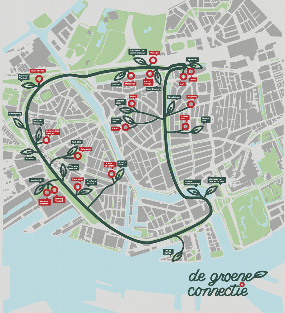 Green ribbon initiative in Rotterdam