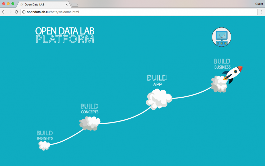 OpenDataLab Website